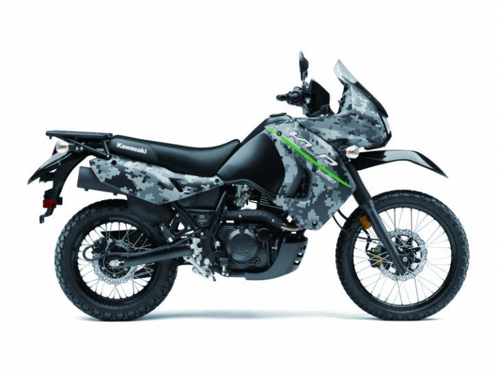 Kawasaki KLR650 Camo 2019