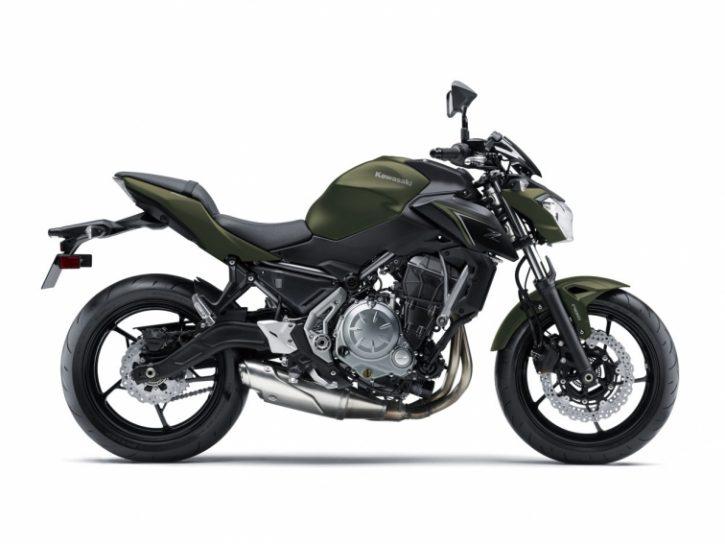 Kawasaki Z650 2019