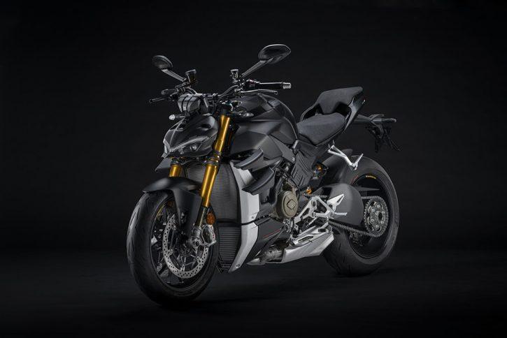 Ducati streetfighter V4 s range 2021