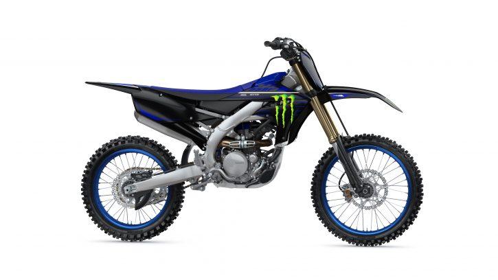Yamaha YZ250F monster energy 2021